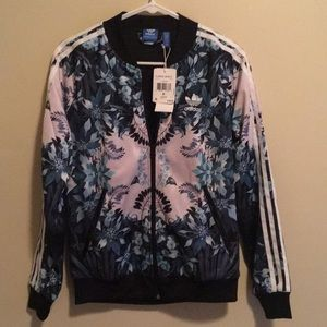 adidas Jackets & Coats - Adidas Florera Graphic Jacket